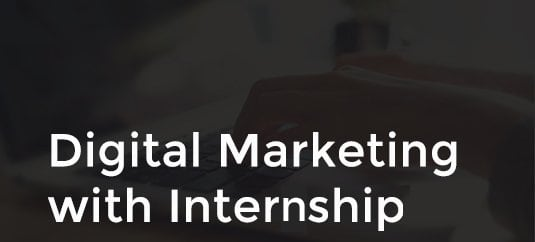 digital marketing with internship