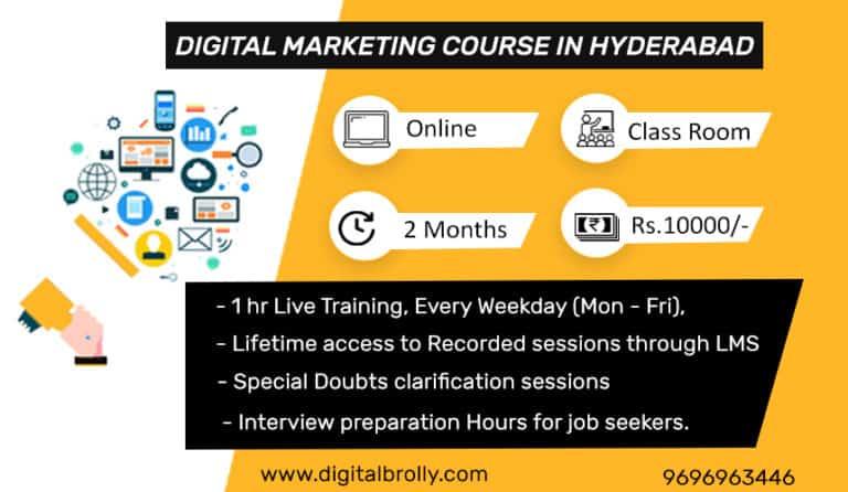 Digital marketing course in hyderabad
